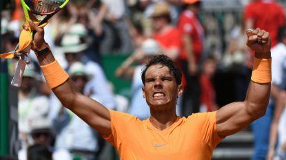 Nadal verschalkt boeman van Goffin en treft Nishikori in finale Monte Carlo - Elleboog houdt Nick Kyrgios langer aan de kant