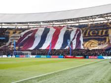Nog één keer de blikvanger van de finale: zo maakten de Tifosi hun gigantische spandoek