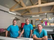 Kiosk de Leemcule herbouwd na brand: 'We kunnen gelijk volop aan de bak'