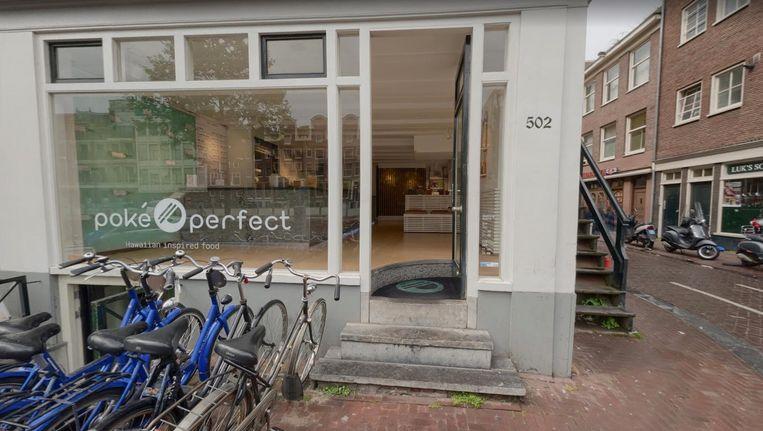 Poke perfect mag geen zitgelegenheden meer aanbieden Beeld Google streetview