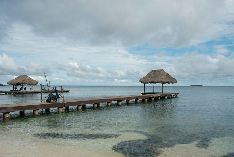 Het eiland Isla Grande voor de kust van Colombia.  Beeld Alamy Stock Photo
