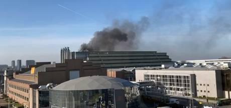 Incendie en cours au Palais 5 du Heysel, pas de victime à déplorer