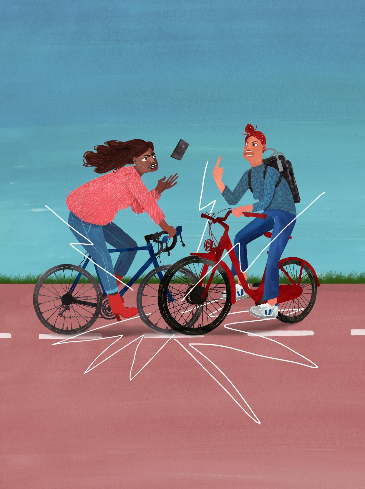Nederland-Fietsland, wereldwijd een monsterhit, fietst jaarlijks 15 miljard kilometer, gemiddeld 880 kilometer per persoon.
