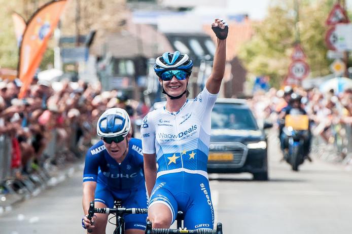 Marianne Vos won voor de achtste keer de Acht van Chaam.
