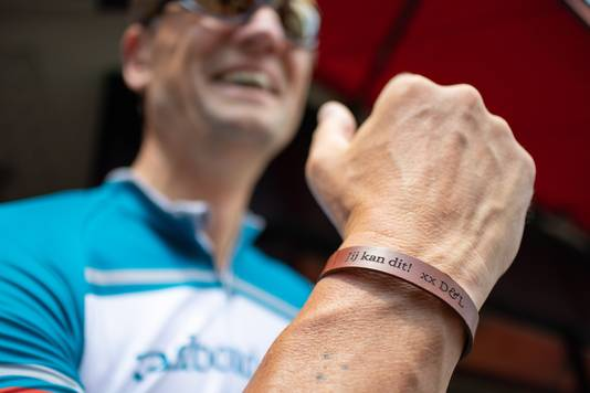 Bart Kiemeney rijdt zijn Tour de France om geld op te halen voor het Radboud Oncologie Fonds.