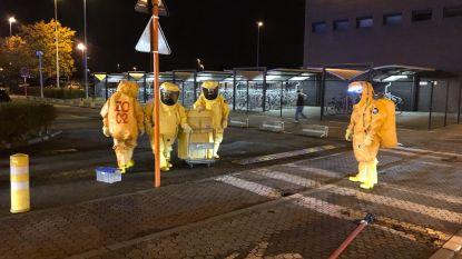 Wit poeder in trein in Denderleeuw was geen anthrax: geen gevaar voor passagiers en personeel