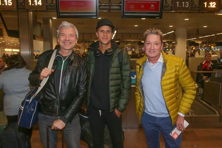 Jan Leyers, Milow en Bart Kaëll.