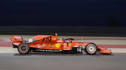 Leclerc snelt met Ferrari in Bahrein naar eerste pole uit F1-carrière