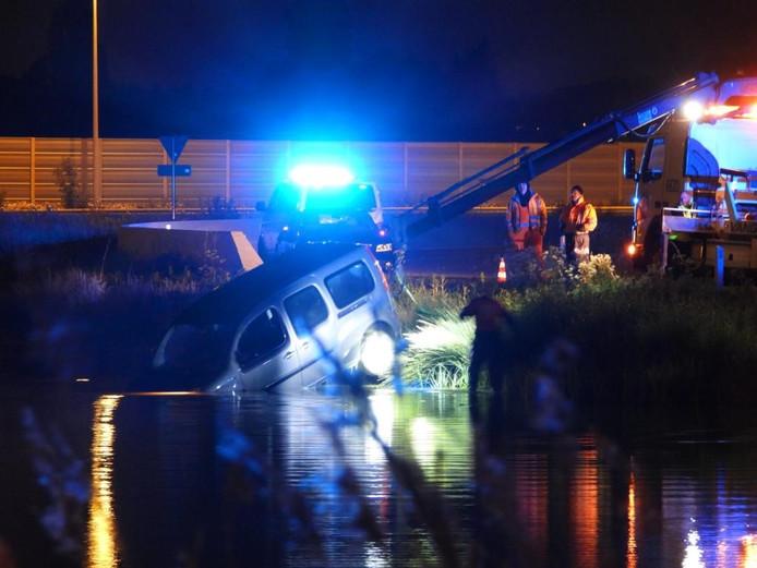 Ongeval Blankenbergse Steenweg B-park