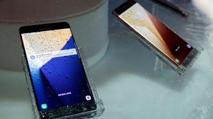Samsung vervolgd om 'waterbestendige' Galaxy