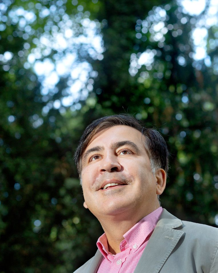 Michaïl Saakasjvili Beeld Maartje Geels