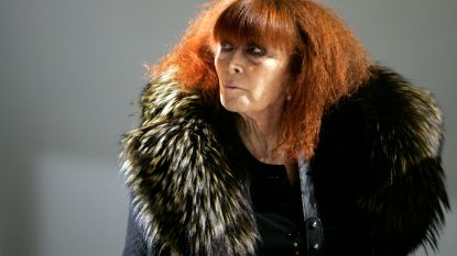 Franse straat wordt vernoemd naar modeontwerpster Sonia Rykiel