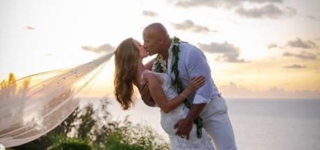 Dwayne Johnson s'est marié