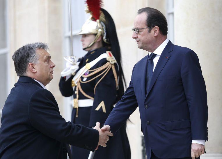 De Hongaarse premier Viktor Orbán. Beeld null