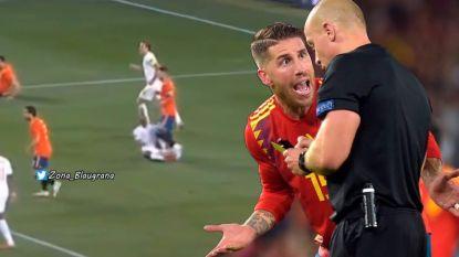 Schandelijke actie van Sergio Ramos blijft onbestraft