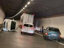 Le tunnel de Cointe à nouveau ouvert à la circulation après un accident