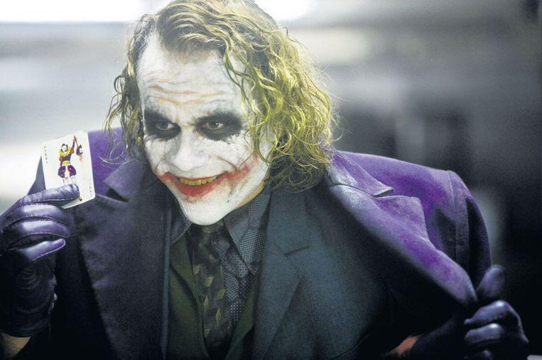 Joker Heath Ledger, inmiddels overleden, had met deze rol geen probleem de film naar zich toe te trekken. Beeld