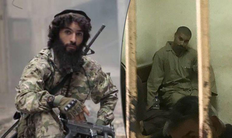 Terreurverdachte Tarik Jadaoun werd ondervraagd in Irak.