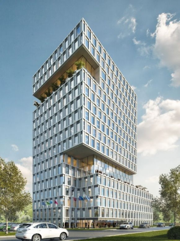 Kantoorgebouw Two Towers.