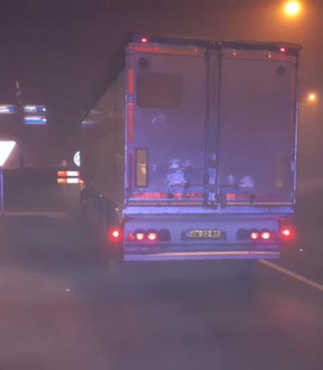 N322 weer open tussen Zuilichem en Gameren na vertraging door vrachtwagen met pech