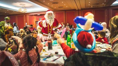 Kerstfeest voor kwetsbare gezinnen in NH Hotel