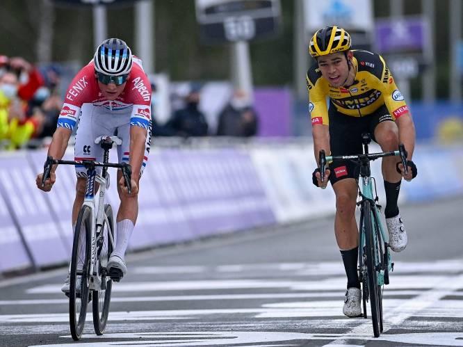 """Wout van Aert verliest op de meest pijnlijke manier van grote rivaal: """"Zal die sprint nog een paar keer opnieuw rijden"""""""
