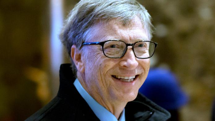 Bill Gates is de rijkste man ter wereld.