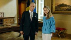Kroonprinses Elisabeth krijgt unieke blik achter de schermen tijdens toespraak koning