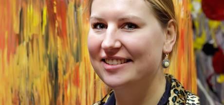 Hoe deze Roosendaalse vrouw haar depressie van zich af schilderde