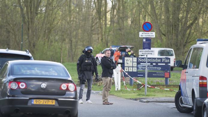 Politie na de liquidatie in IJsselstein.