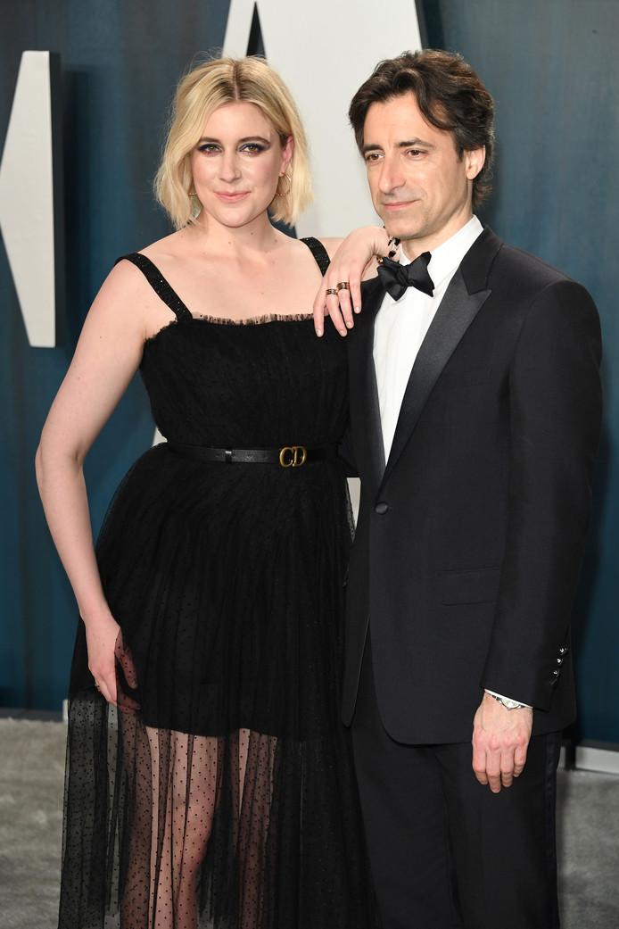 Greta Gerwig (links) was een van de vrouwen die niet genomineerd werd voor een Oscar. Zij regisseerde Little Women. Haar man, Noah Baumbach (rechts), werd overigens ook niet genomineerd voor beste regisseur voor de film Marriage Story. Beide films maakten wel kans op een Oscar voor Beste Film.