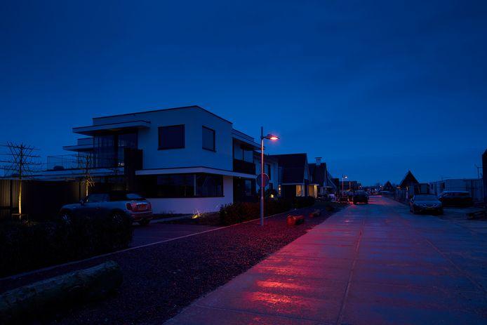 Vleermuisvriendelijk licht van Signify in Nieuwkoop.