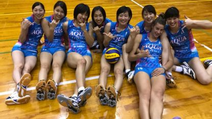 Letterlijk en figuurlijk 'Big in Japan': volleybalsters Aelbrecht en Heyrman op avontuur