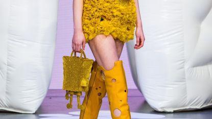 SpongeBob in een stijlvol avant-gardejasje