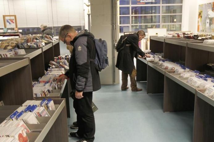 De Eindhovense bibliotheek. Archieffoto Ton van de Meulenhof