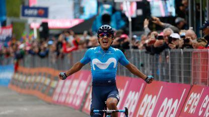 Indrukwekkende Carapaz slaat andermaal toe in Giro: ritzege én roze trui