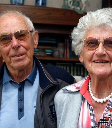 Briljanten huwelijk in Oostburg