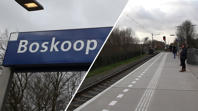 Videostill. Boskoop station.