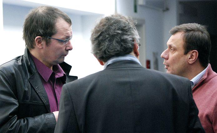 Marc Metdepenningen (à gauche), ici face à Jean-Denis Lejeune, en 2009
