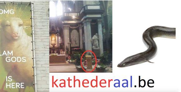 Geen kathedraal maar een katheder-aal.