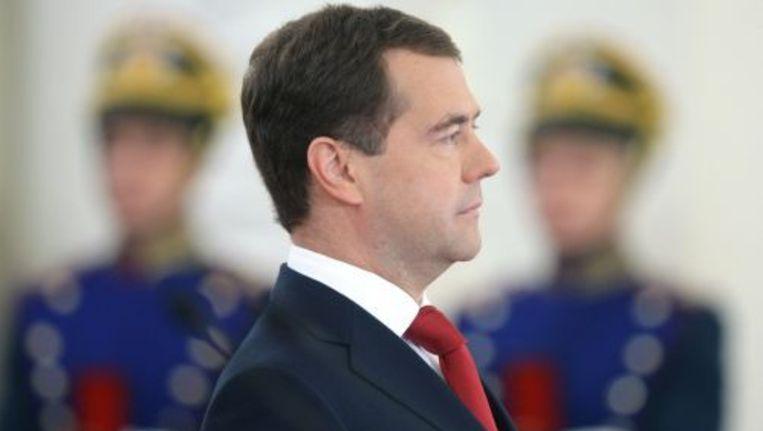 De Russische president Medvedev. ANP Beeld