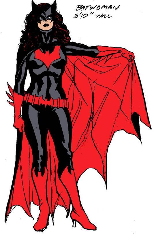 De nieuwe Batwoman, onthuld door DC Comics.