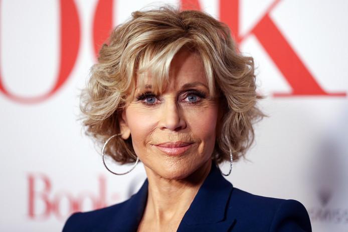 Jane Fonda in augustus dit jaar.