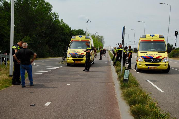 De aanrijding in Westervoort.