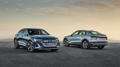 Audi e-tron Sportback nieuwste telg voor fabriek in Vorst