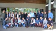 Scouts en gidsen vieren 80ste verjaardag pater Rik