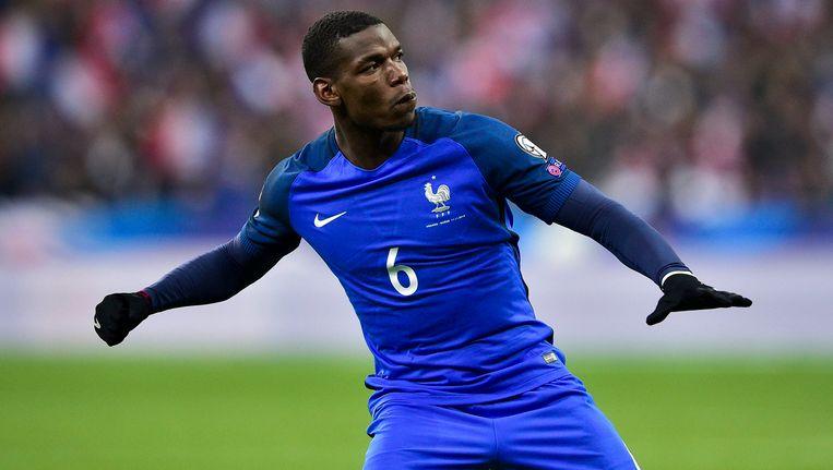 Superster Pogba scoorde de gelijkmaker voor Frankrijk