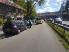 Fietser gewond na botsing met auto op Amersfoortseweg in Maarn