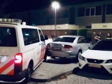 Auto-inbrekers klemgereden na achtervolging