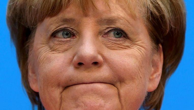 Angela Merkel, 19 september. Beeld Reuters